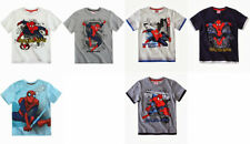 BNWT Boys Official Spiderman T-shirt, tee, character top 3 -10yrs. Short sleeved
