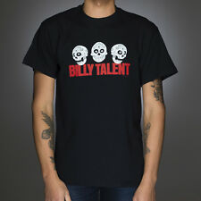 OFFICIAL Billy Talent - Three Skulls T-shirt NEW Licensed Band Merch ALL SIZES