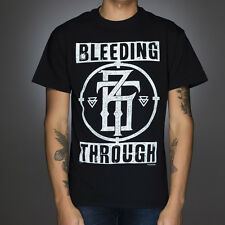 OFFICIAL Bleeding Through - Crosshairs T-shirt NEW Licensed Band Merch ALL SIZES