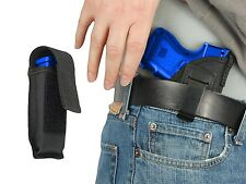 New Barsony IWB Gun Holster + Mag Pouch for Colt 380 Ultra-Compact 9mm 40 45