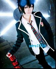 Japanese Anime Outfit Ao no Exorcist Rin Okumura School uniforms Cosplay Costume
