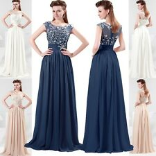 Long Evening Formal Gowns Graduation Banquet Bridesmaid Prom Dresses Party Dress