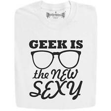 Stabilitees Funny Printed Geek Is The New Sexy Cool Slogan Mens T Shirts