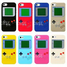 Gameboy Game Boy Silicone Rubber Rugged Matte Soft Case Cover for iPhone 5 5S