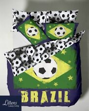 BRAZIL FIFA FOOTBALL WORLD CUP 2014 RIO ENGLAND BEDDING DUVET COVER QUILT SET