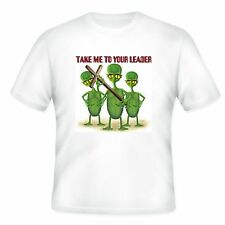 Christian T-shirt alien sci-fi Take Me To Your Leader Jesus