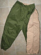 British Army Softie Trousers Thermal Reversible Stuff Sack Carp fishing Warm NEW