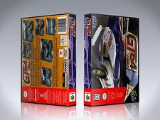 GT64 Championship Edition - N64 Custom Art Case/Box (*No Game*)