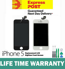For iPhone 5 Replacement LCD Digitizer Front Screen Assembly Panel Black White