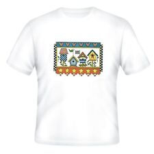 Decorative Country T-shirt Birdhouse bird house houses
