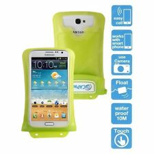 Green 100% Waterproof Underwater Housing Case Sleeve Pouch for Smartphone Phone