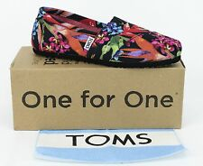 Toms Women's Classic Black Birds of Paradise