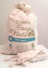 Shep's Organic Soap Nuts -Soap Berries Natural Laundry Detergent FAST SHIPPING