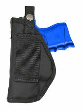 New Barsony OWB Gun Belt Loop Holster for Sig-Sauer Compact, Sub-Comp 9mm 40 45