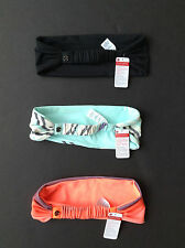 NWT Lululemon HEADBAND (BANG BUSTER / CHARMING BRAID / ETC)