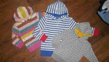 New x Boden Fun Hoodie Blue White, Candy Stripe or Grey Floral Sweat Top 18m-12y