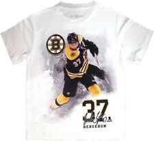PATRICE BERGERON #37 FX Highlight Reel Kewl-Dry YOUTH Tee Shirt