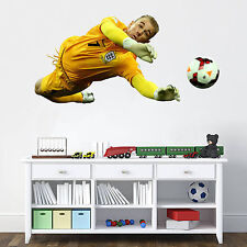 World Cup Repositional Fabric Wall Stickers in 3 sizes - Joe Hart  England
