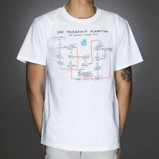 OFFICIAL The Big Bang Theory - Friendship Algorithm T-shirt NEW LICENSED Merch A