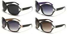 Womens DG Rhinestone Fashion Designer Sunglasses Shades Celebrity Black Brown