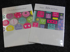 Female 50 Today Birthday Cards FREE FIRST CLASS POST