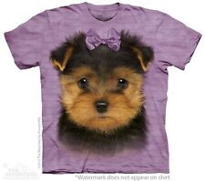 Yorkshire Terrier Puppy Kids T-Shirt from The Mountain. Boy Girl Child Sizes NEW