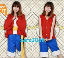 Anime Costume ONE PIECE/Monkey D Luffy AND D·Luffy 2years later cosplay Clothing