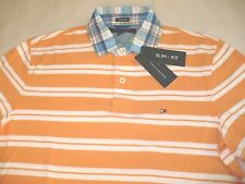 NEW NWT TOMMY HILFIGER MENS SLIM FIT POLO SHIRT SZ SIZE M L XL XXL 2X S/S TH