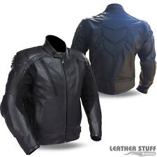 New Sports/Touring Motorcycle A Garde Vented leather jacket Removable Armour