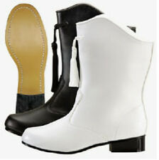 NEW Ladies White Leather Majorette & Go-Go Dance Boots