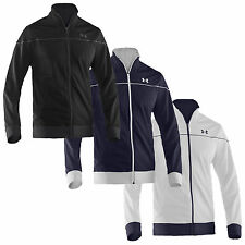 UNDER ARMOUR MENS FULL ZIP STRENGTH TRACK JACKET - NEW RUNNING CYCLING TRAINING