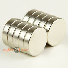 Super Strong Disc Magnets 12mm dia x 3mm  Rare Earth Neodymium Craft Fridge N35