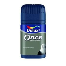 Dulux Once Matt Colour Testers Paints 50ml *36 Colours to choose from*