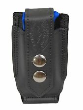 NEW Barsony Black Leather Single Mag Pouch Colt 380 & Ultra Compact 9mm 40 45