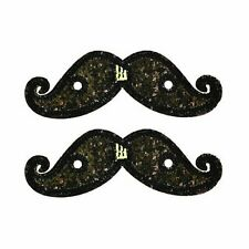 Official Designer Shwings Lace In Sparkle Mustache For Shoes
