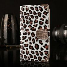 Hot Luxury Leopard PU Leather Flip Stand Wallet Case for Samsung Galaxy S3 I9300