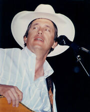 GEORGE STRAIT WHITE STETSON BLUE SHIRT PHOTO OR POSTER