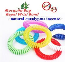 Anti Mosquito Bug Pest Repel Wrist band Bracelet Non Toxic Insect Repellent