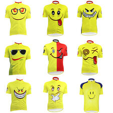 New 2014 Smile Outdoor Cycling sports Men's Jersey Bike Shirt Short Sleeve Top