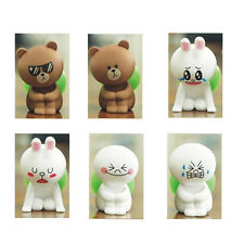 Cute Cartoon Spectacled bear Shy Rabbit Smile Baby Stand/Holder for iPhone 4 5