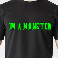 I'm a monster. inc kids children game movie animals bear sex retro Funny T-Shirt