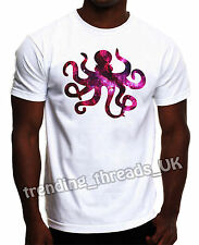 OCTOPUS TSHIRT GALAXY COSMIC SPACE SEA LIFE HIPSTER NEW TOP