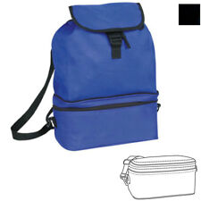 COOLER  W/FOLDABLE BACKPACK PICNIC DRINK WATER LUNCH BAG BAGS BOX 11 x 15-1/2""
