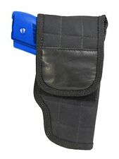 New Barsony OWB Flap Belt Holster Smith&Wesson M&P Compact Sub Compact 9mm 40 45