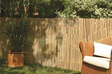 Privacy Screen Bamboo Calama Garden Fence Wind Protection Fence 4 Sizes