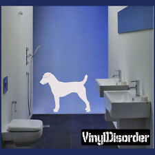 Parson Russel Terrier Dog Vinyl Wall Decal Or Car Sticker - 03