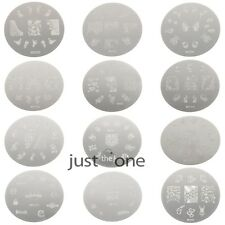 Stylish Women Nail Art  Manicure Template Image Stamp Stamping Plates DIY Decors