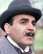 AGATHA CHRISTIE: POIROT DAVID SUCHET CLOSE UP PHOTO OR POSTER