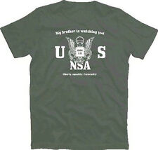 Big Brother Is Beobachtung You - Usa Nsa T - Shirt S - XXXL New