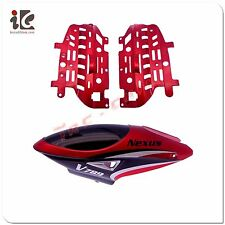 Head Cover/ Canopy & Motor Frame For VIEFLY NEXUS V789 RC HELICOPTER SPARE PARTS